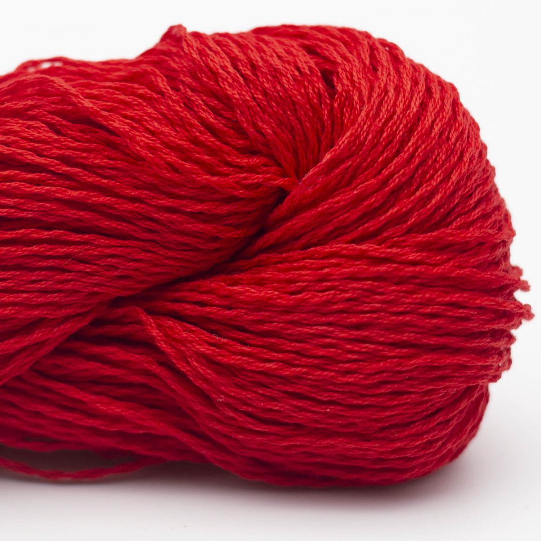 BC Garn Luxor mercerized Cotton Kirschrot