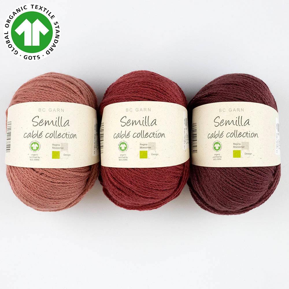 BC Garn Semilla cablé GOTS  Natural