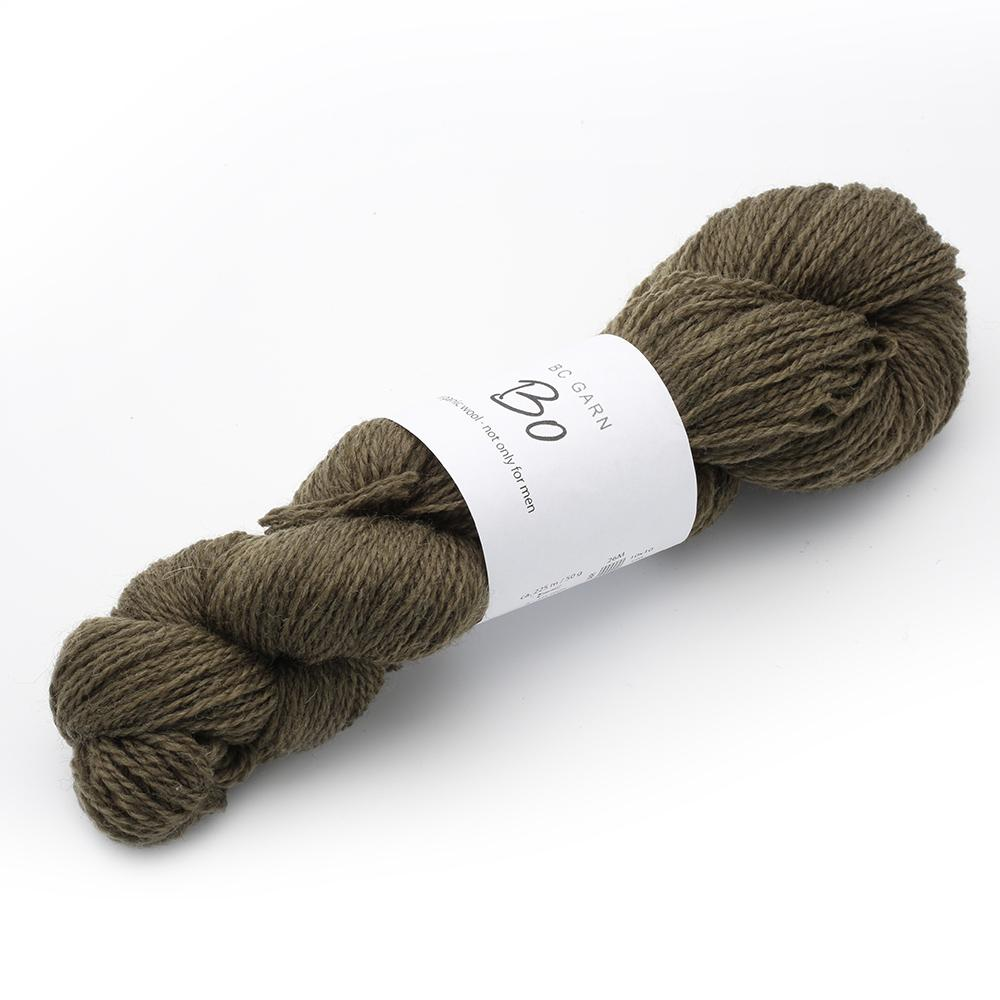 BC Garn Bo - organic wool not only for men Oliv