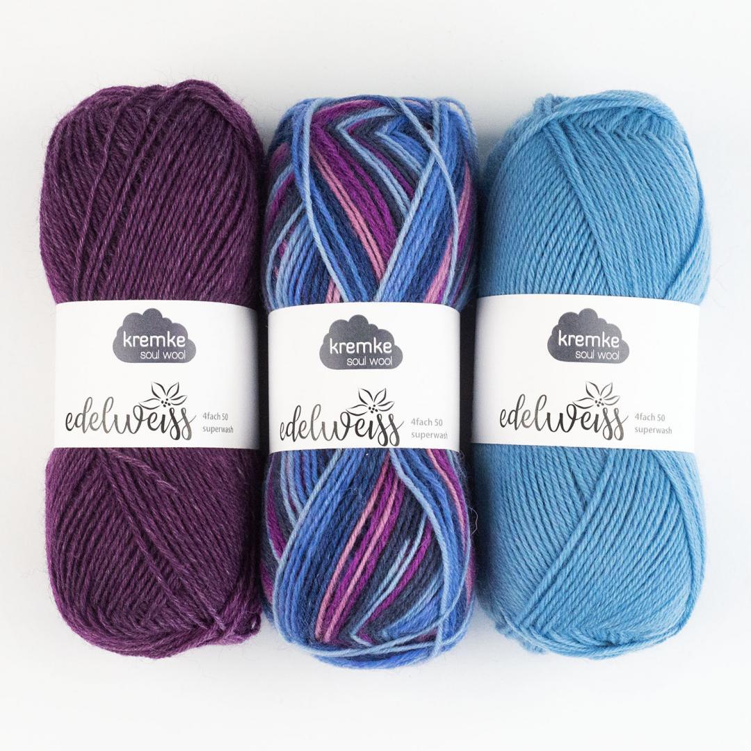 Kremke Soul Wool Edelweiss 4fach 50