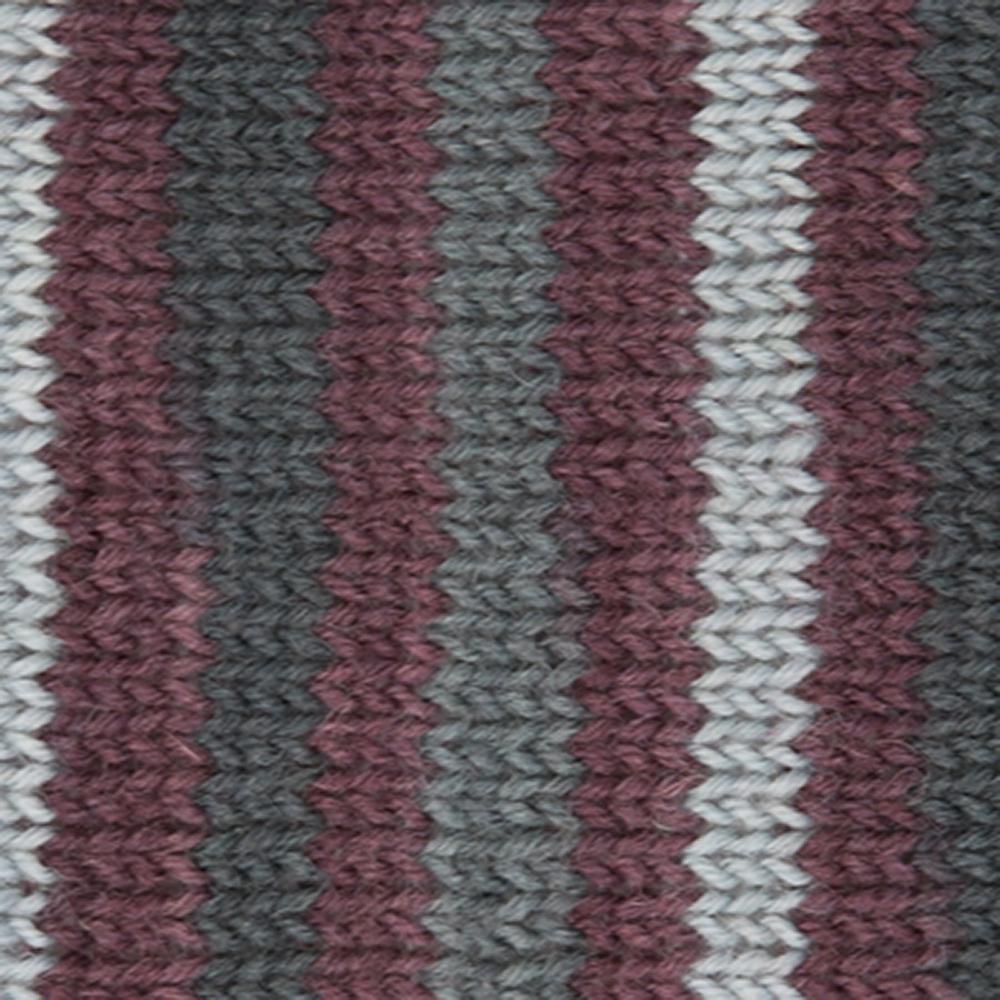 Kremke Soul Wool Edelweiss 4fach 100 Graubraungestreift