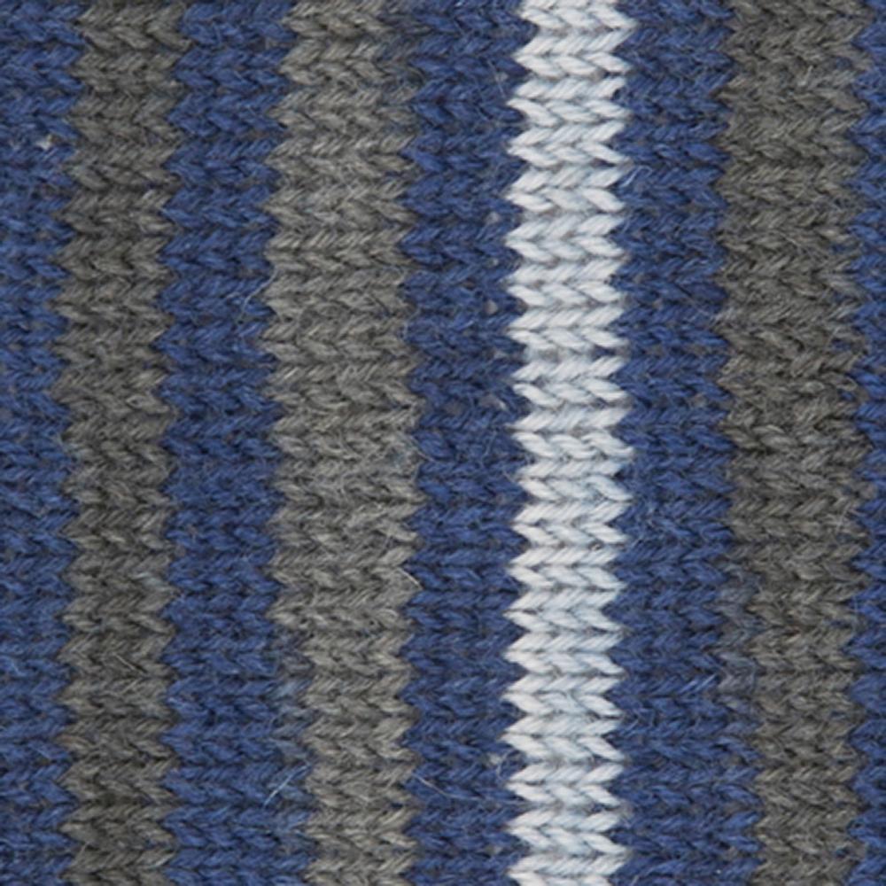 Kremke Soul Wool Edelweiss 4fach 100 Navygraugestreift