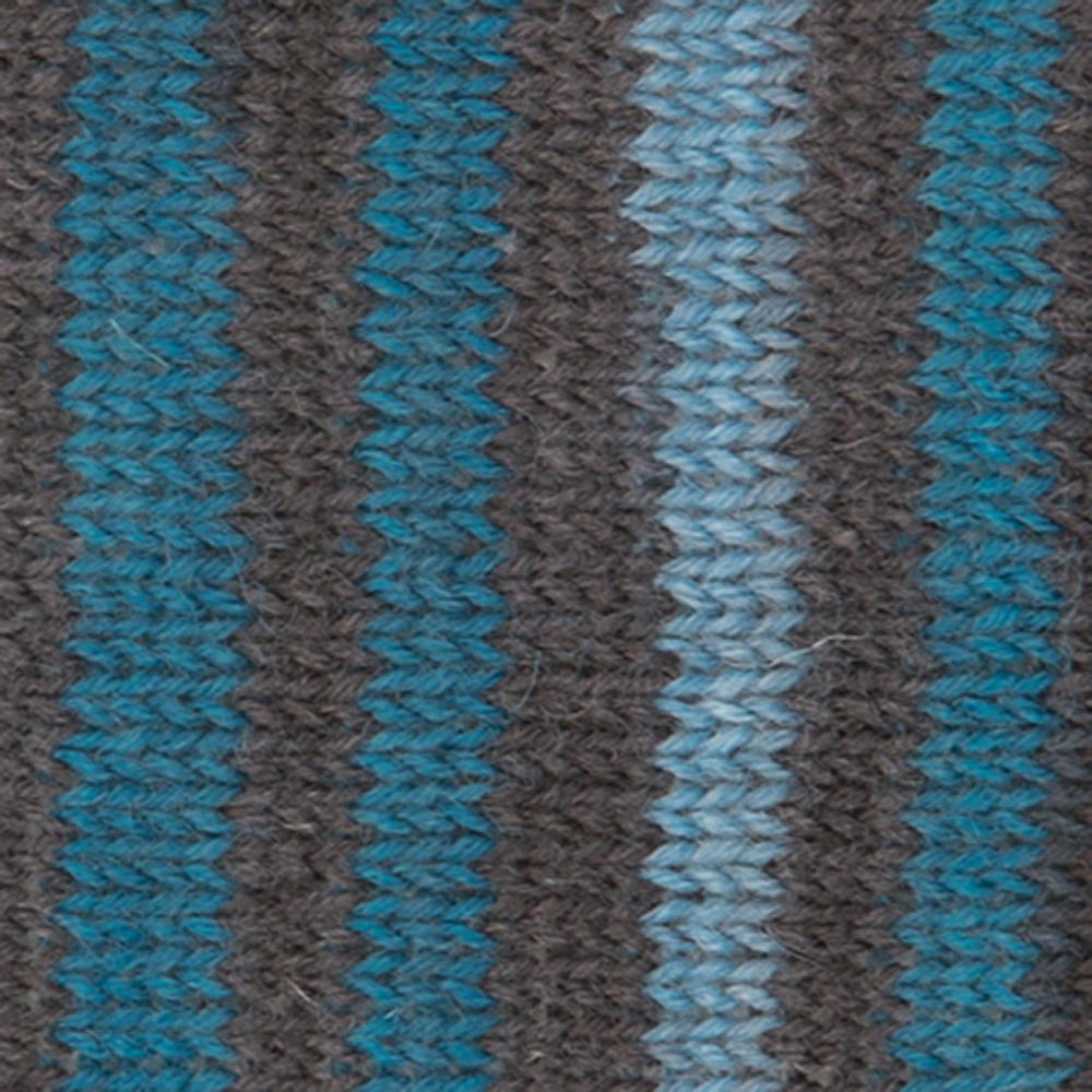 Kremke Soul Wool Edelweiss 4fach 100 Jeansbraungestreift