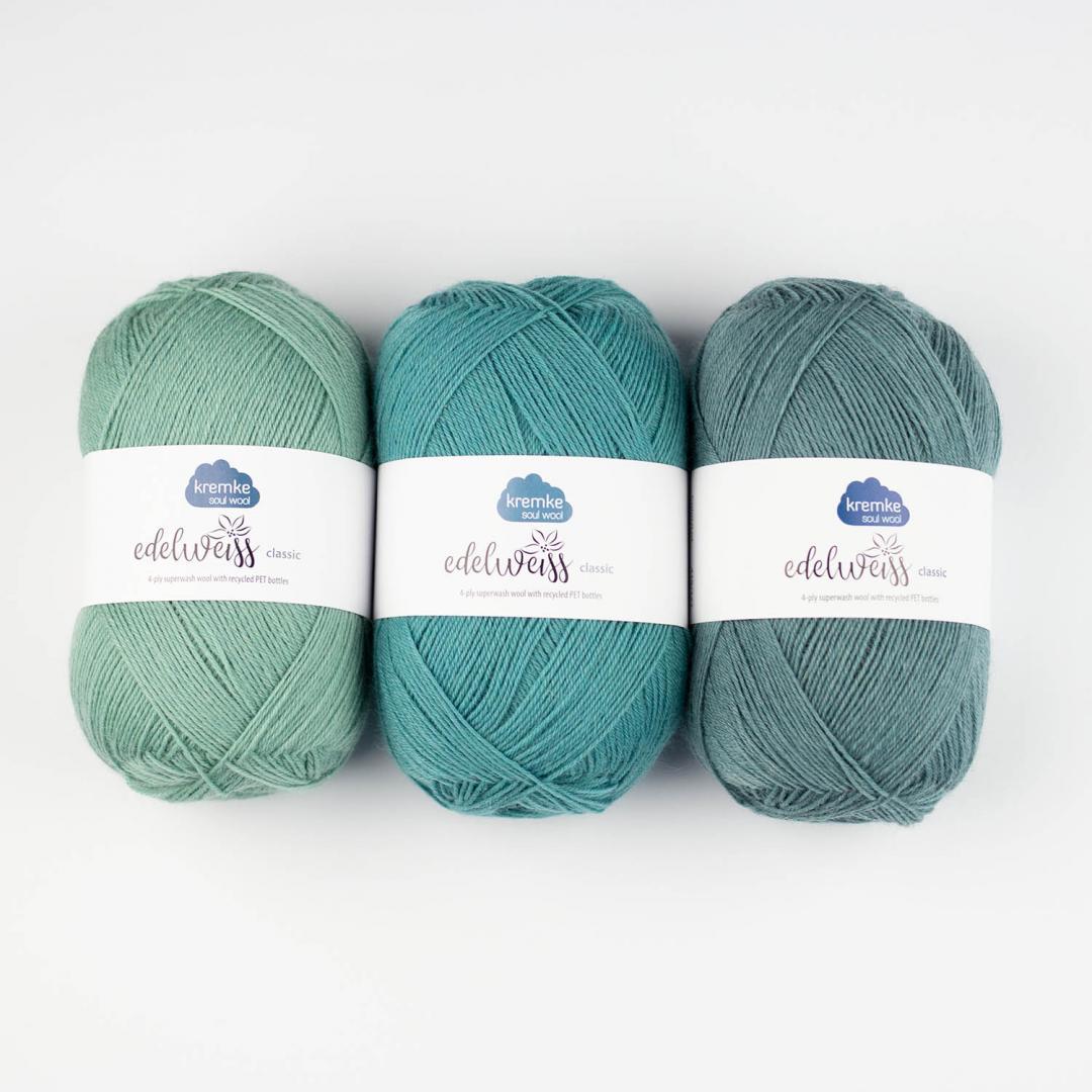 Kremke Soul Wool Edelweiss 4fach 100
