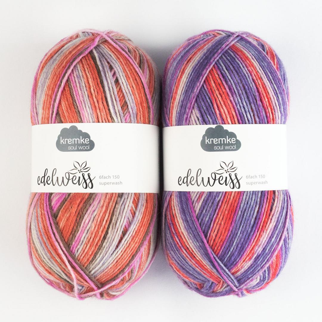 Kremke Soul Wool Edelweiss 6fach 150