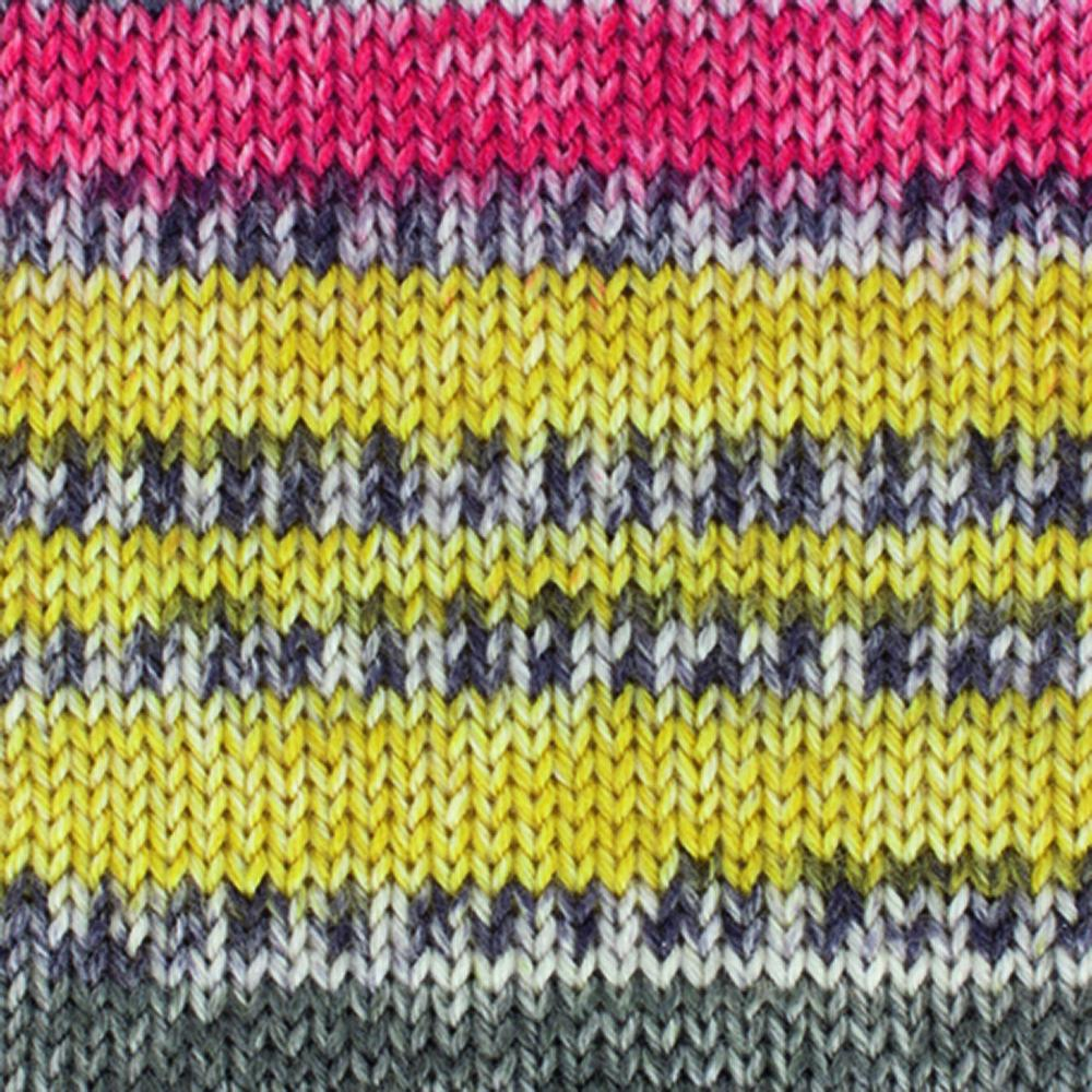 Kremke Soul Wool Edelweiss 4fach Kaschmir 50g Messing Gelb bunt