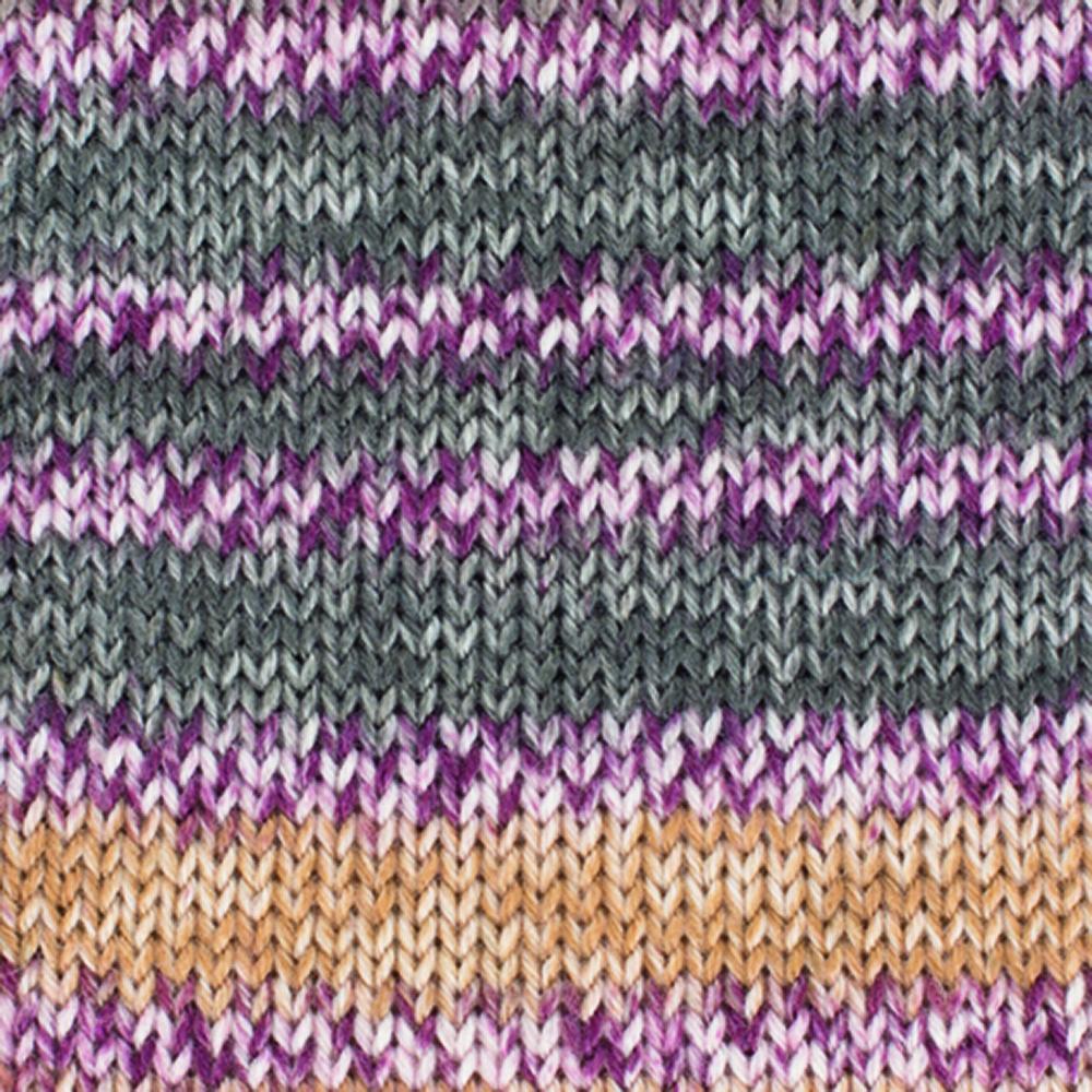 Kremke Soul Wool Edelweiss 4fach Kaschmir 50g Braun bunt