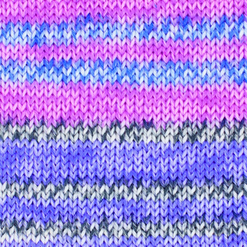 Kremke Soul Wool Edelweiss 4fach Kaschmir 50g Rosa bunt