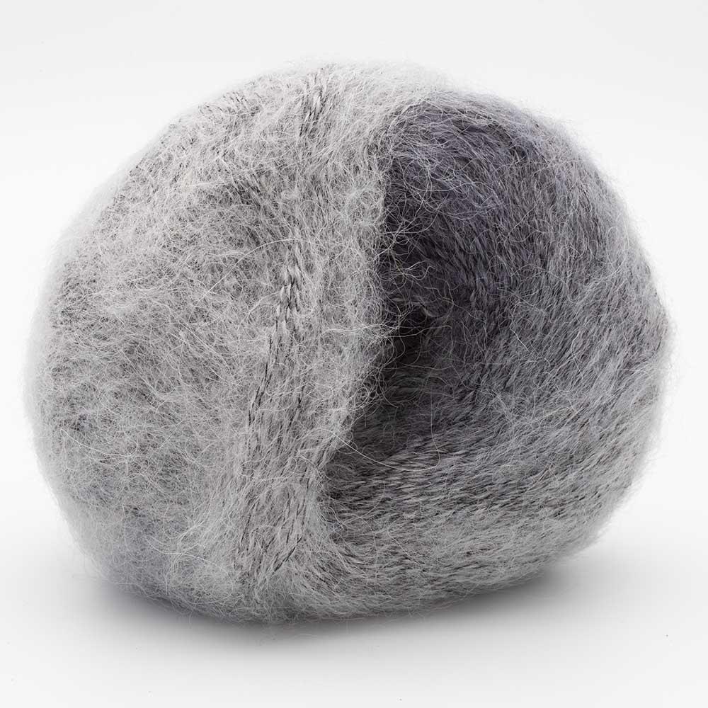 Kremke Soul Wool Baby Silk Fluffy Farbverlauf Silber