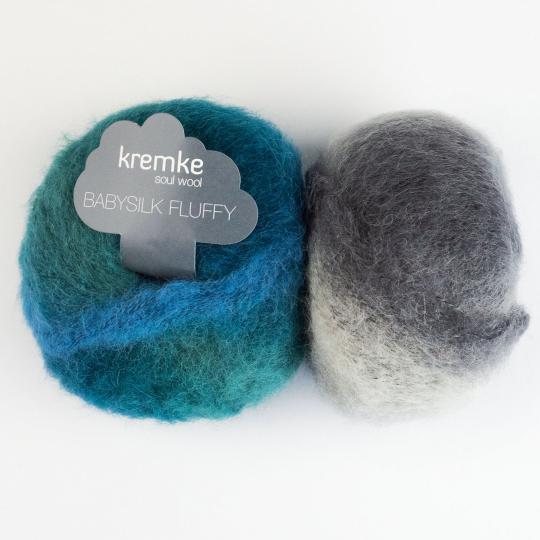 Kremke Soul Wool Baby Silk Fluffy Farbverlauf