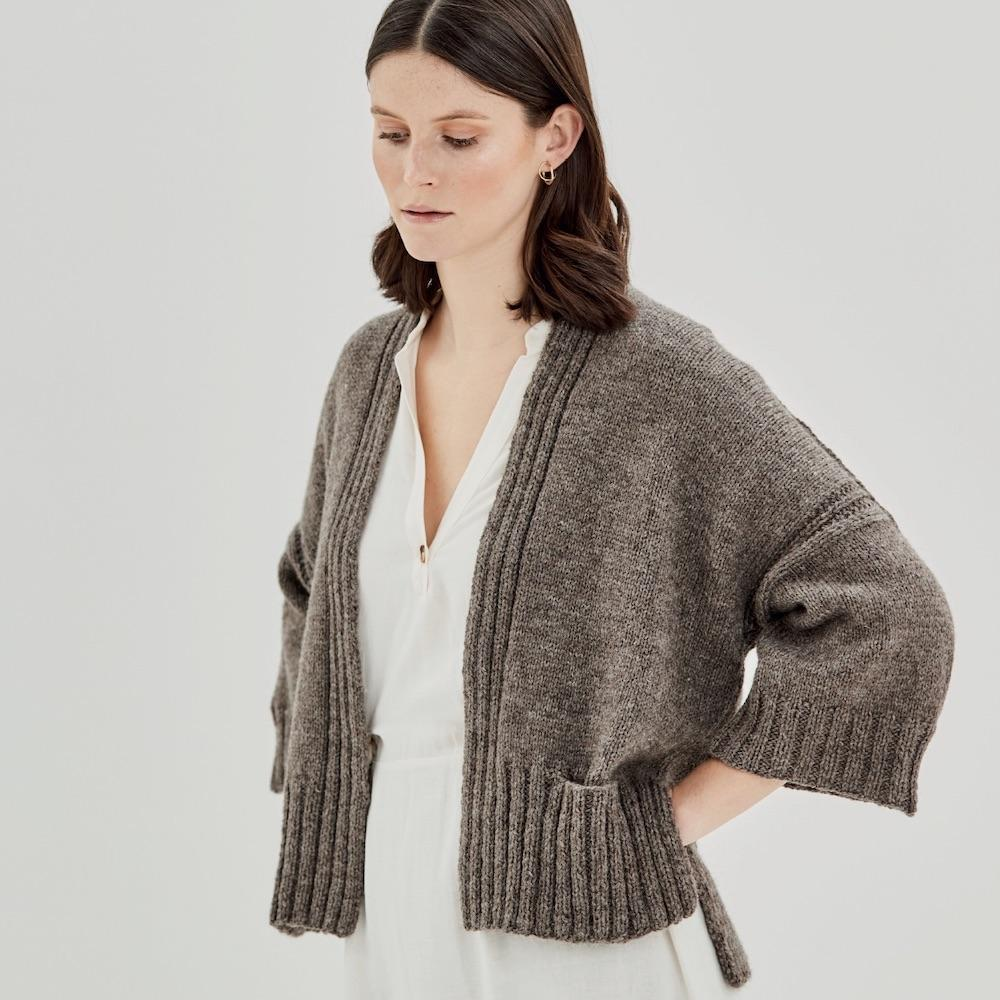 Erika Knight Gedruckte Anleitungen Wool Local Fettle ENG