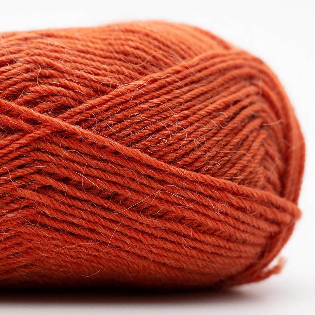 Kremke Soul Wool Edelweiss Alpaka 4-fach 25g Rost