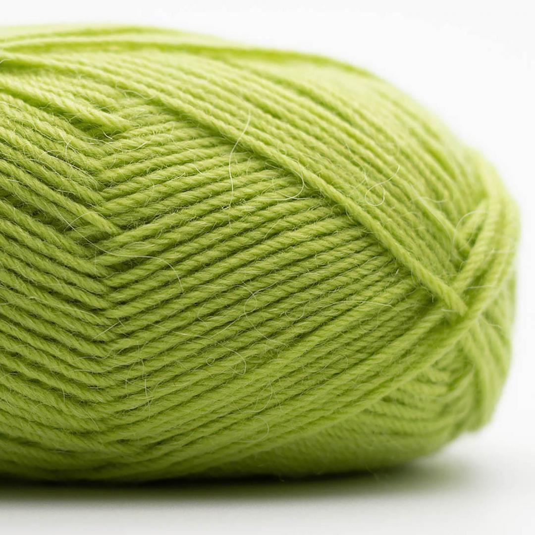 Kremke Soul Wool Edelweiss Alpaka 4-fach 25g Hellgrün