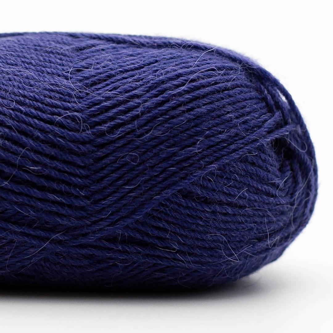 Kremke Soul Wool Edelweiss Alpaka 4-fach 25g Blau-Schwarz