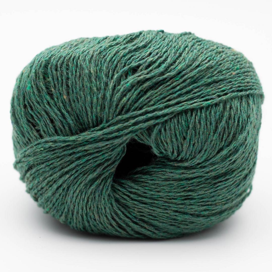 Kremke Soul Wool Reborn Denim Uni Wiesengrün