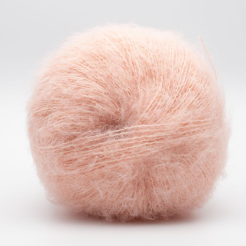 Kremke Soul Wool Baby Silk Fluffy Solid Pale Peach