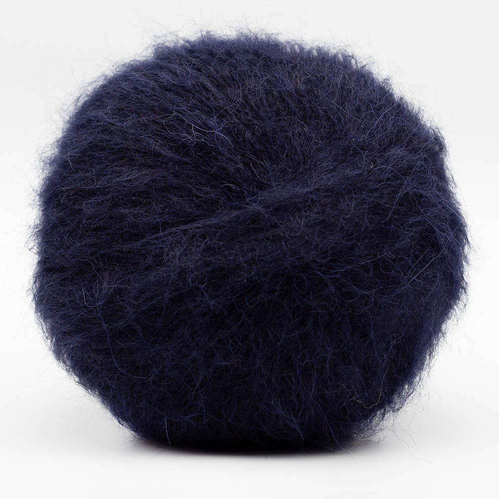 Kremke Soul Wool Baby Silk Fluffy Solid Midnight Blue
