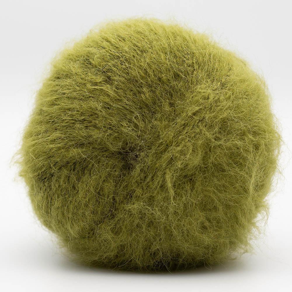 Kremke Soul Wool Baby Silk Fluffy Solid Olive