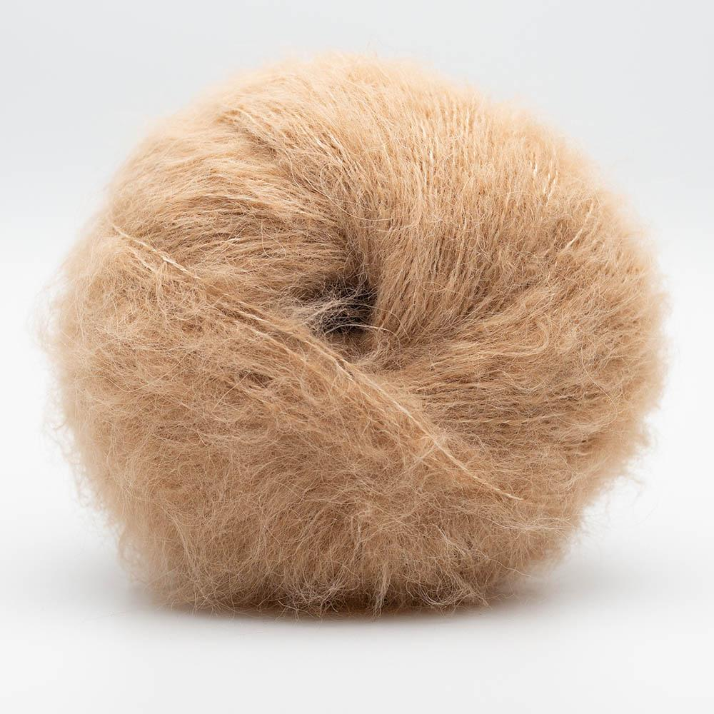 Kremke Soul Wool Baby Silk Fluffy Solid Toffee