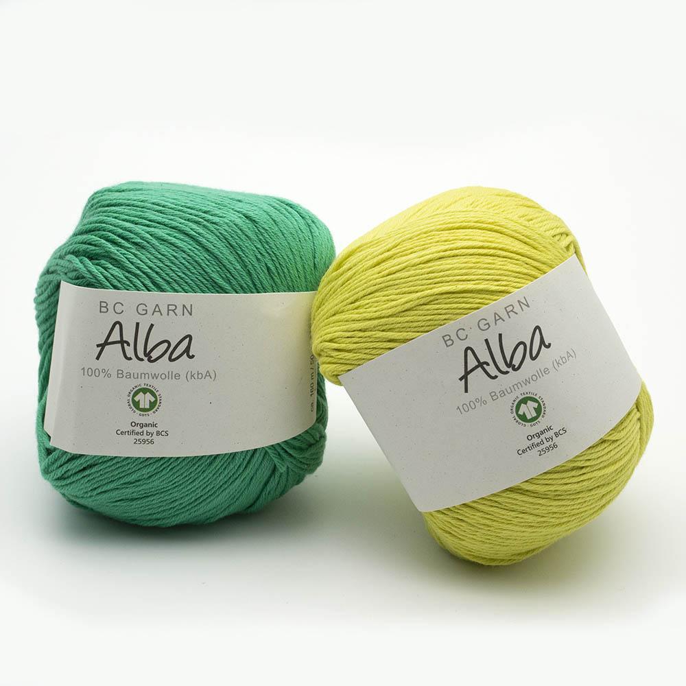 BC Garn Alba GOTS Auslauffarben