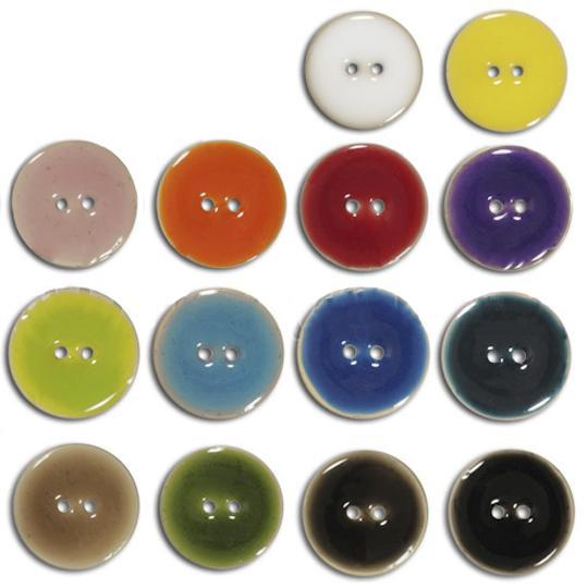 Jim Knopf Cocosknopf Keramik-Optik verschiedene Größen