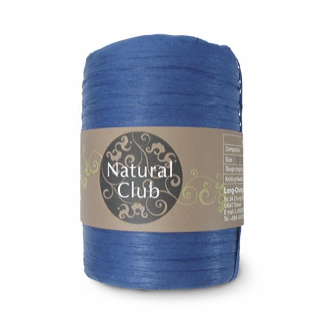 Kremke Naturbast aus Papier/Holzfaser Blau