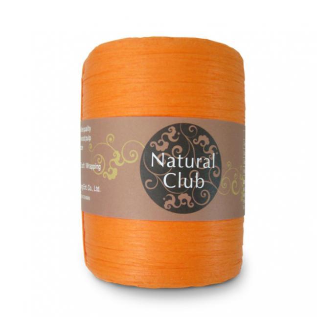 Kremke Naturbast aus Papier/Holzfaser orange