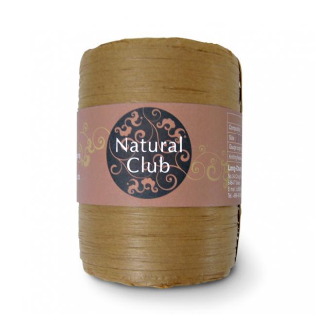 Kremke Naturbast aus Papier/Holzfaser tabak