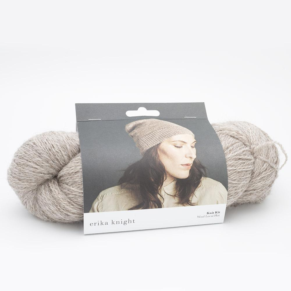 Erika Knight Strickset Wool Local Mütze