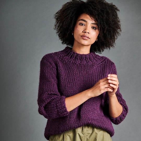 Erika Knight Anleitung PASSERBY für Maxi Wool EK0008
