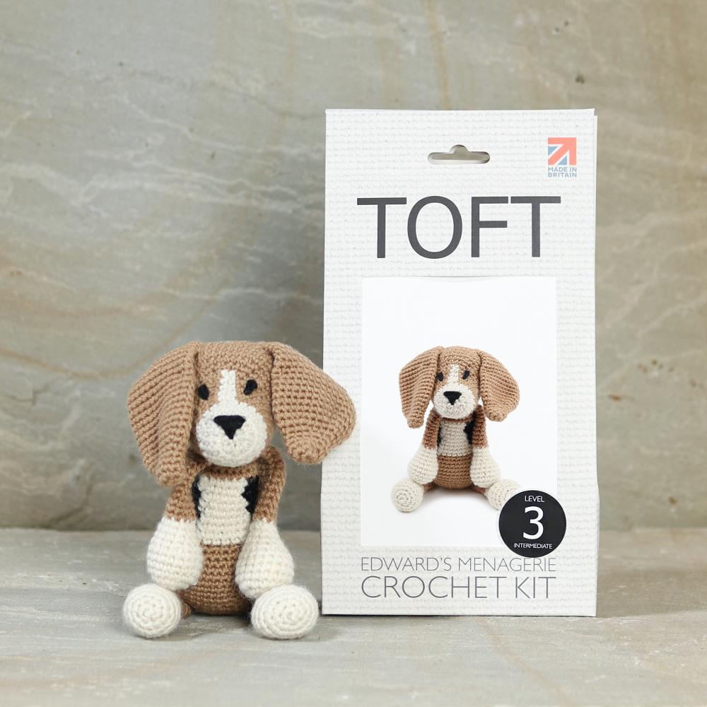TOFT Lola der Beagle Häkelset