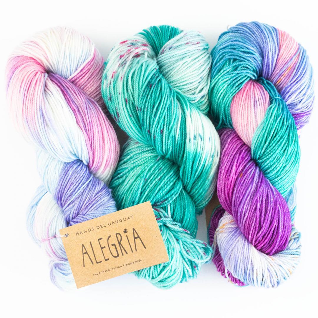 Manos del Uruguay Alegria handgefärbt 100g