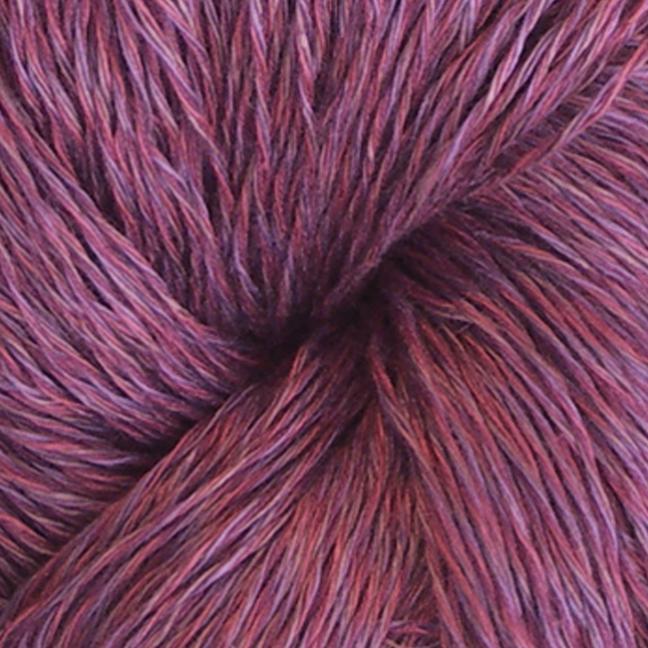 Karen Noe Design Linea Leinen (100g) rotviolett