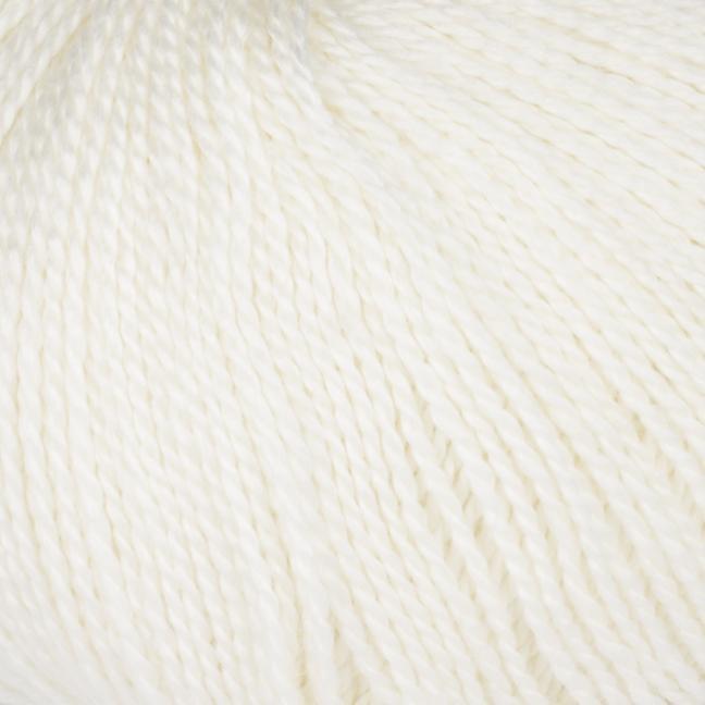 BC Garn Silkbloom Fino   naturweiß