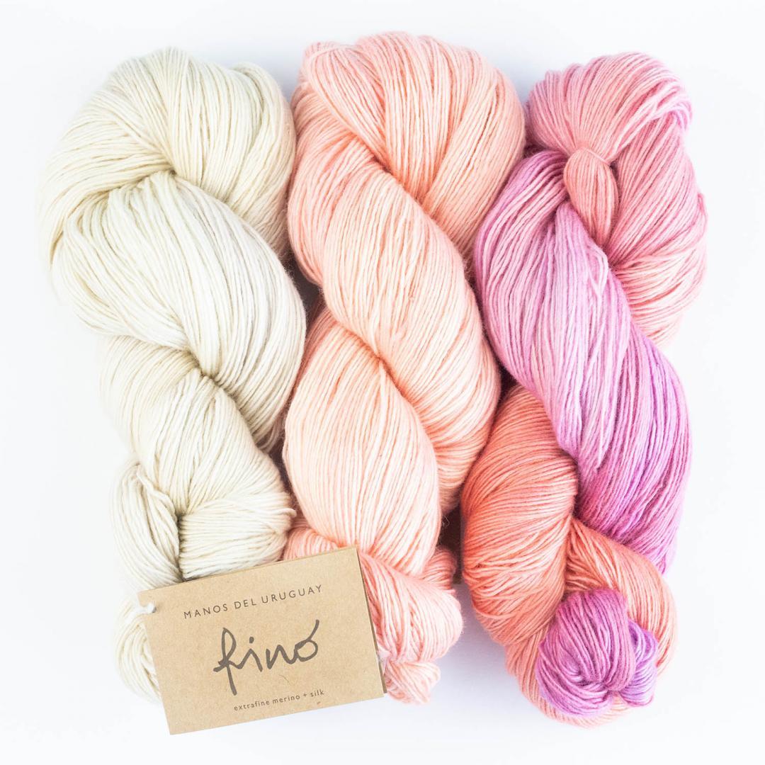 Manos del Uruguay Silk Blend fino handgefärbt 100g