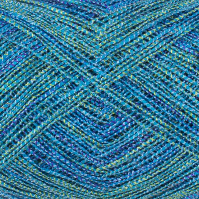 Karen Noe Design Japonica Cottoncore Silk Aquamarin