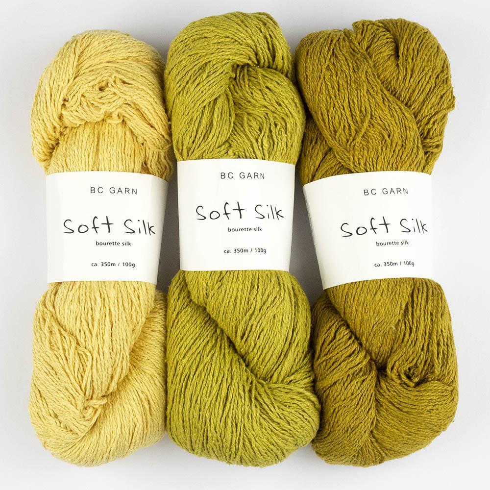 BC Garn Soft Silk (100g)  reinweiß