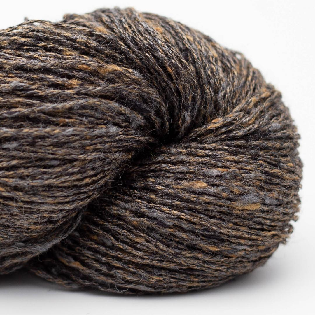 BC Garn Tussah Tweed brown-earth- mix