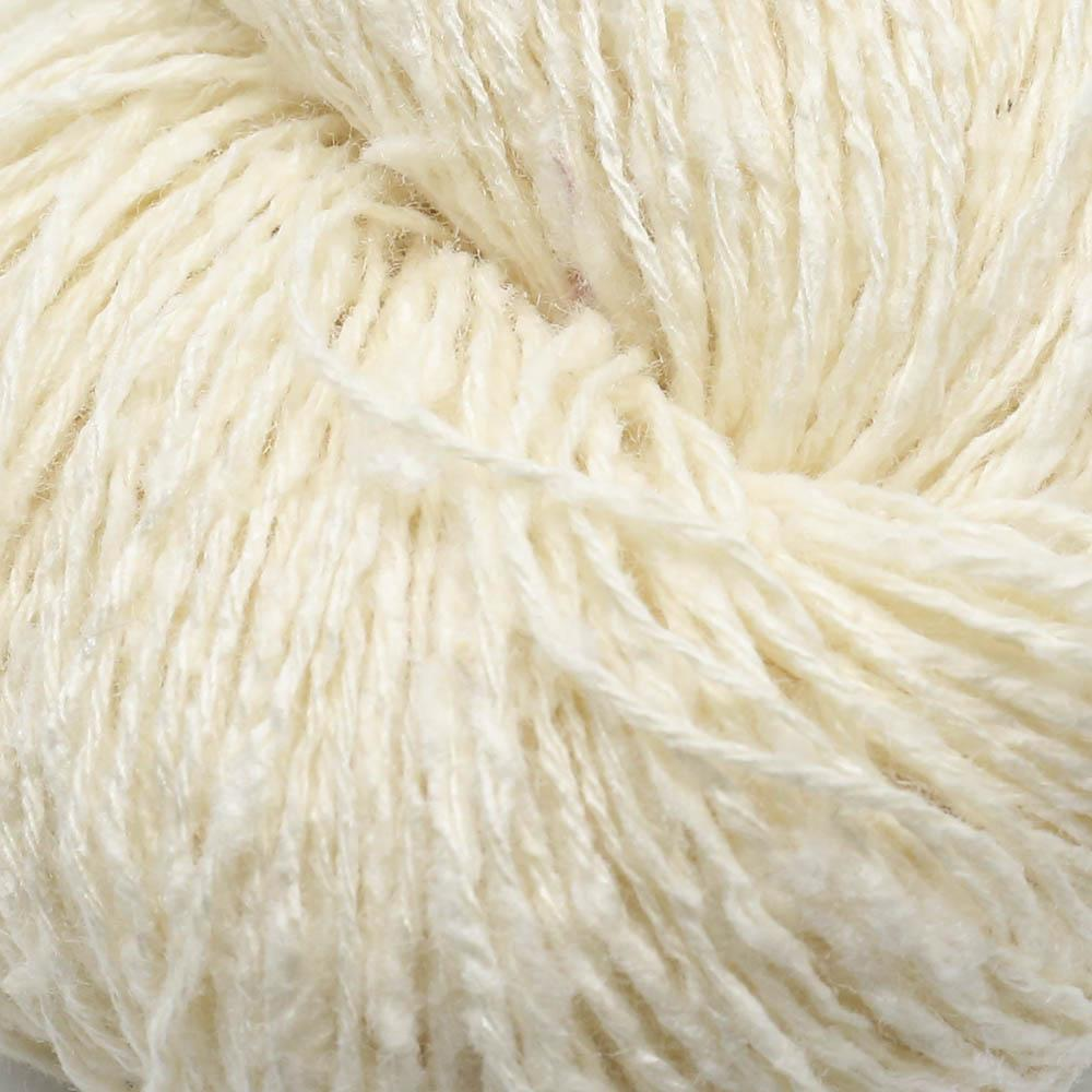 BC Garn Tussah Tweed  Cremeweiß