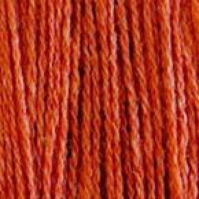 BC Garn Shetland Wool Orangerot