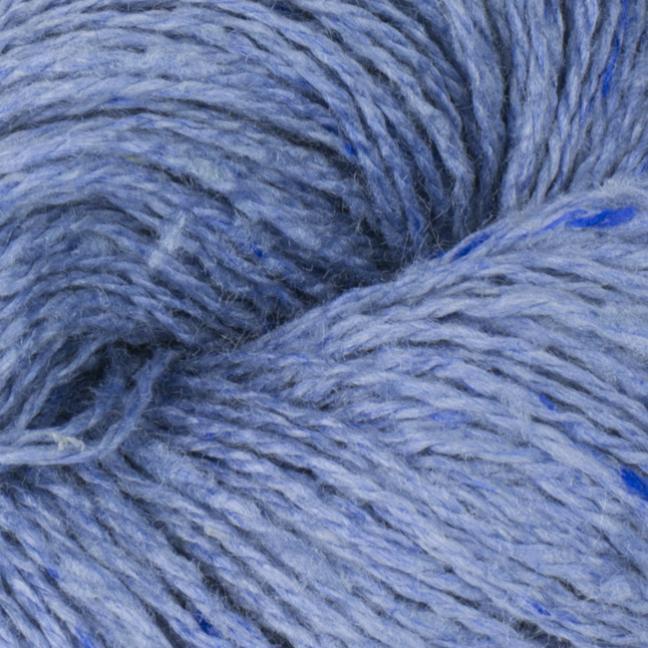 BC Garn Sarah Tweed blau