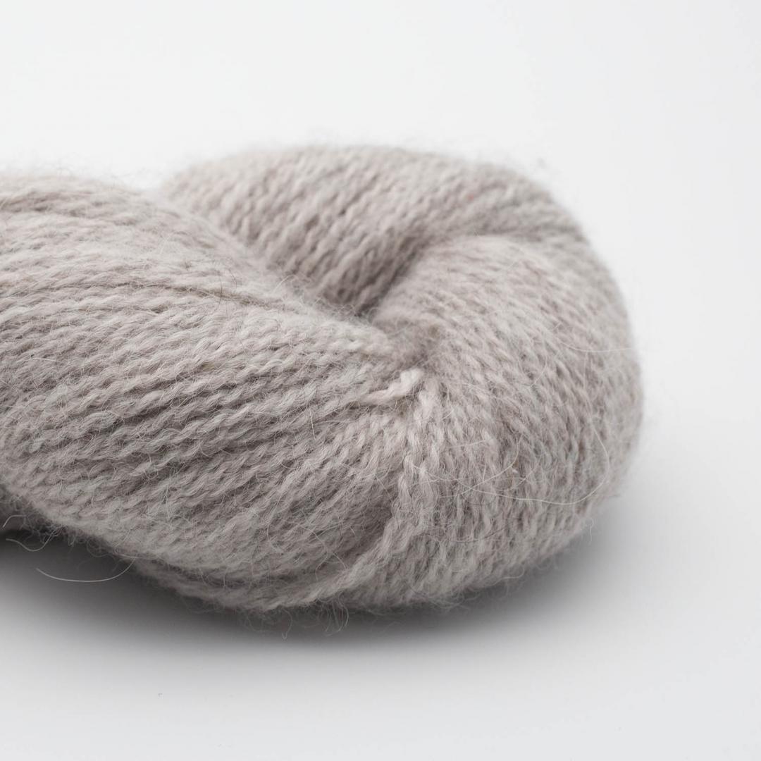 BC Garn Babyalpaca 10/2 silber (ungefärbt)