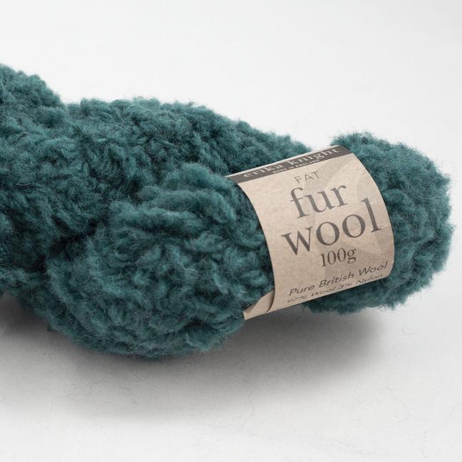 Erika Knight Fur Wool (100g) Mallard