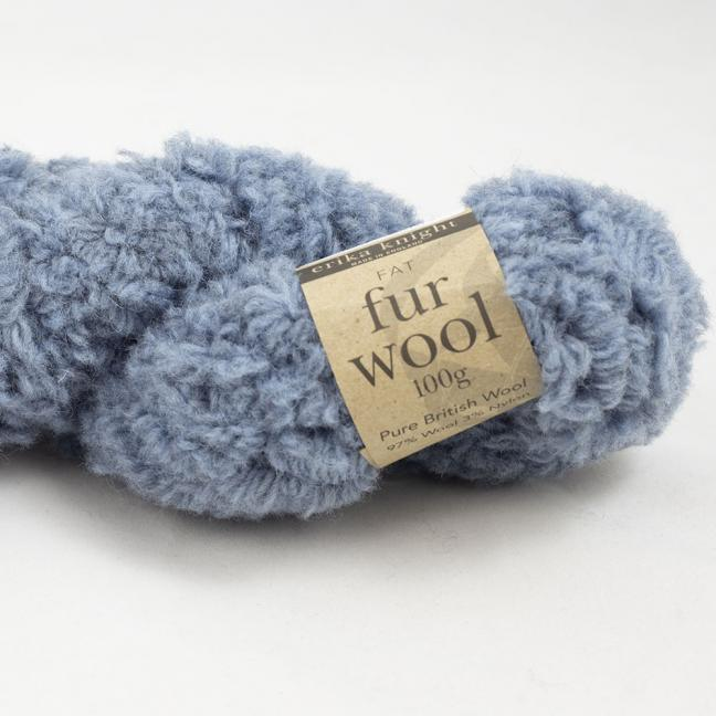 Erika Knight Fur Wool (100g) Steve