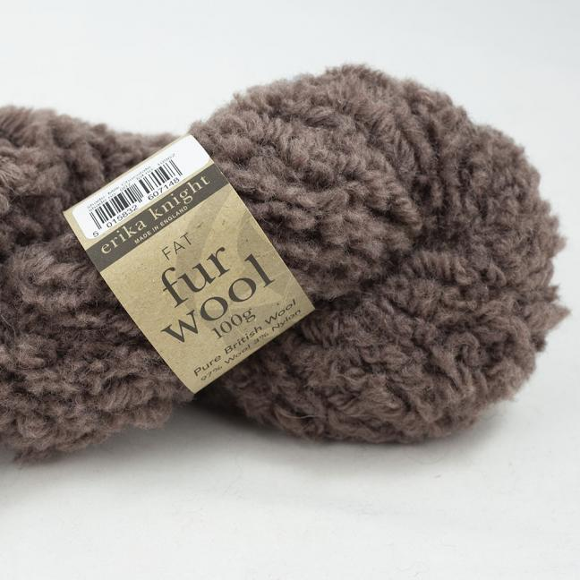 Erika Knight Fur Wool (100g) Milk Chocolate