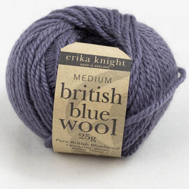 Erika Knight British Blue Wool (25g) French