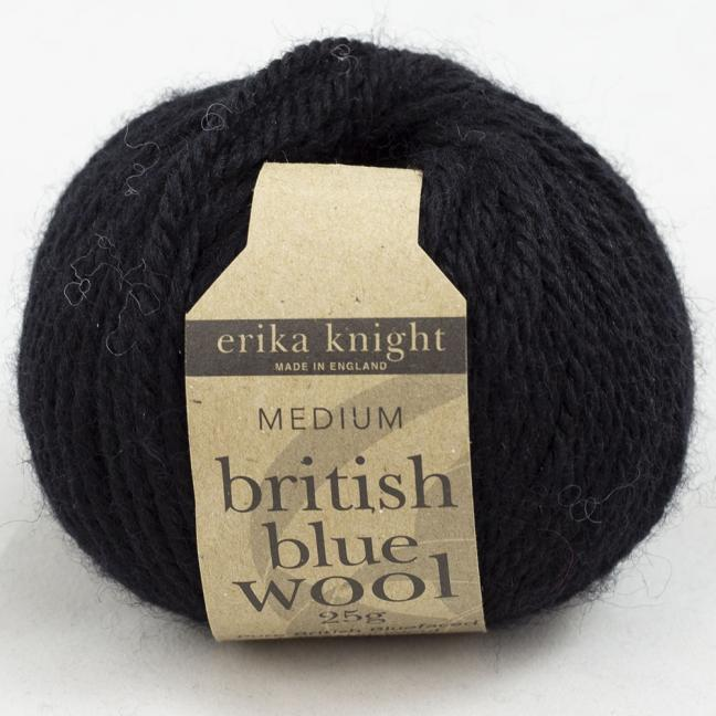 Erika Knight British Blue Wool (25g) Pitch