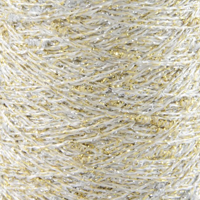 Karen Noe Design Stardust Lurexgarn gold-silver