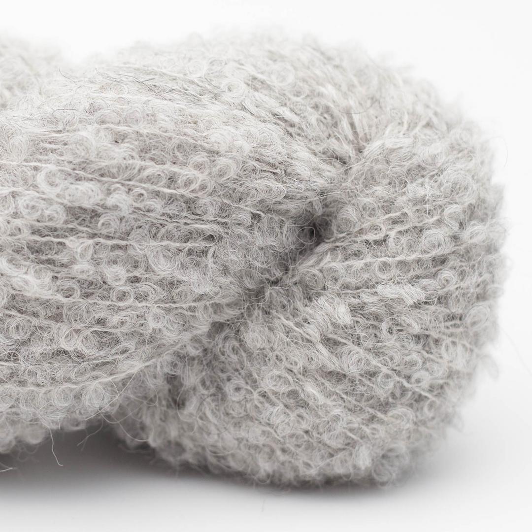 Kremke Alpaka Boucle Hellgrau