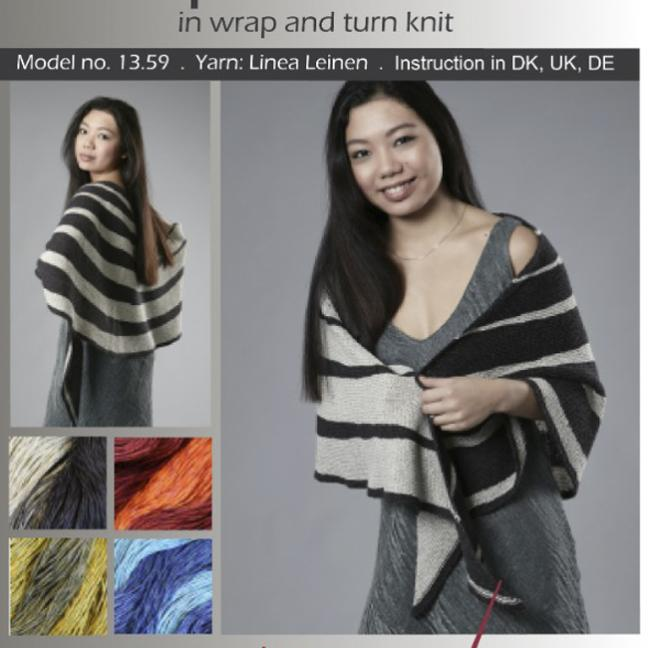 Karen Noe Design Kit Striped Shawl 13.59
